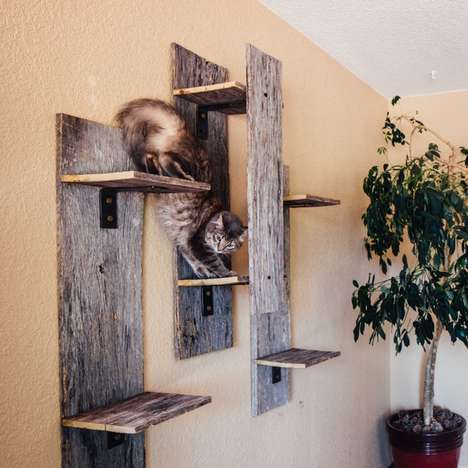 Rustic Cat Furniture - This Eco-Friendly Cat Furniture is Perfect for Cat Lovers