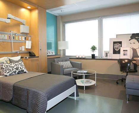 Branded Hospital Rooms