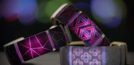 Personalized Light Bracelets - This Bracelet Can Be Set Up to Perform Many Visual Functions