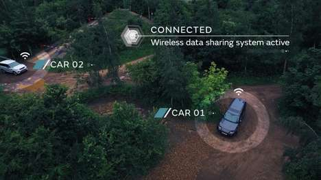 Autonomous Off-Road Vehicles - Land Rover is Conducting All-Terrain Self-Driving Research
