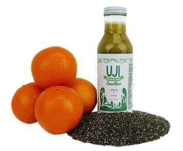 Cleansing Chia Juices - The Uji Chia Citrus Smoothie is Designed To Be a Whole Meal Replacement