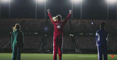 Inclusive Olympic Ads - Canadian Tire's Heartwarming Ad Pays Tribute to the Canadian Olympic Team