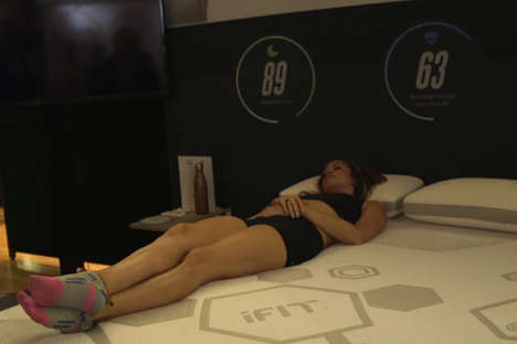 Sleep-Inspired Workouts - NordicTrack is Partnering with iFit for Workouts Based on Sleep Patterns