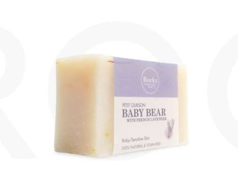 Mild Lavender Baby Soaps - Rocky Mountain Soap Ensures a Safe and Soothing Clean with Its Product