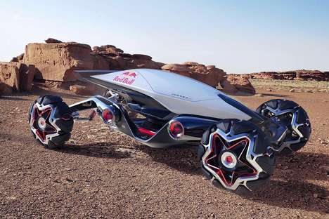 Top 30 Auto Concepts in August - From Purifying Urban Vehicles to Rocket-Powered Racing Cars