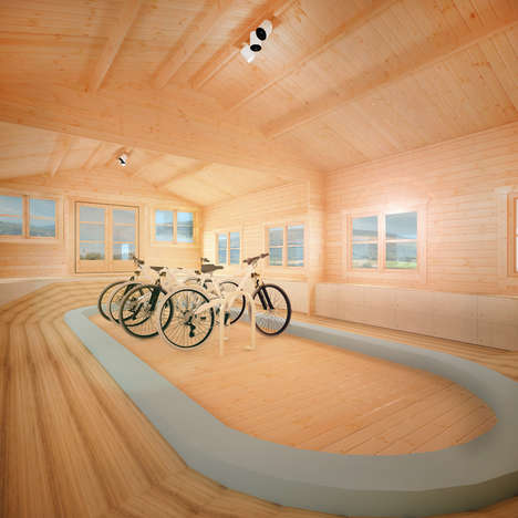 Athletic Training Cabins - The 'Summer Sport' Cabin Makes Training at Home Easy for Amateur Athletes