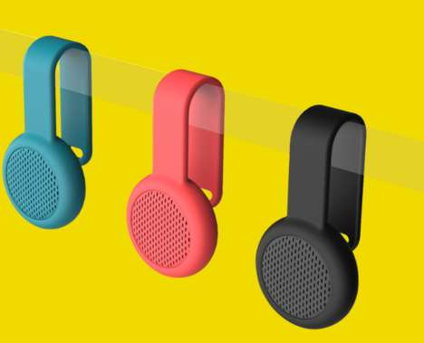 Portable Water-Resistant Speakers - These Endearing Speakers Feature a Design Ideal for Travel