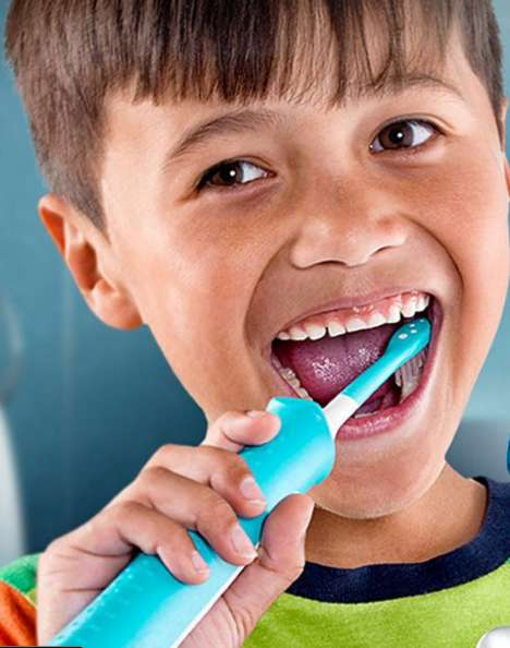 Franchise-Themed Toothbrushes - This Kids' Toothbrush Offers High-Tech Training Features