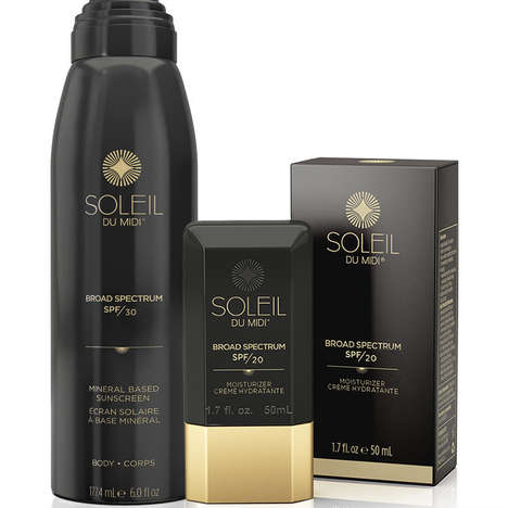 Vegan Mineral Sunscreens - Soleil Toujours' Products are Hypoallergenic, Lightweight and Vegan