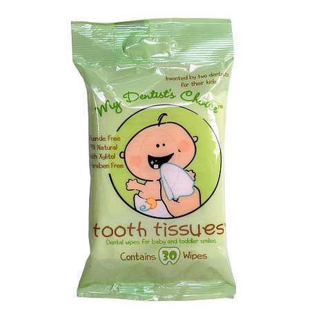 Baby-Friendly Tooth Wipes - Tooth Tissues are a Gentle and Chemical-free Tooth Cleaner for Babies
