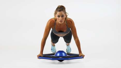 Portable Core Trainers - The AXIUS Workout System Challenges Balance To Strengthen the Abdomen