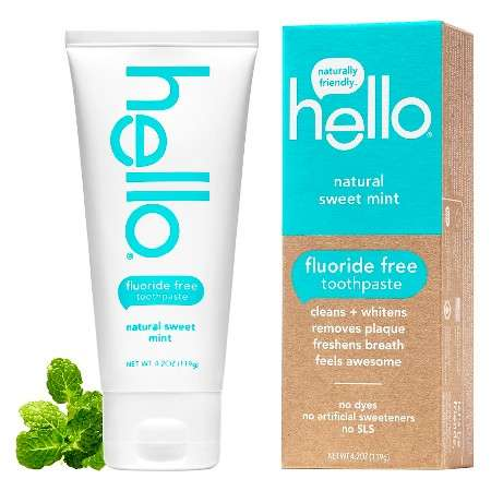 Fluoride-Free Toothpastes - hello's Fluoride-Free Toothpaste is Made with Natural Ingredients