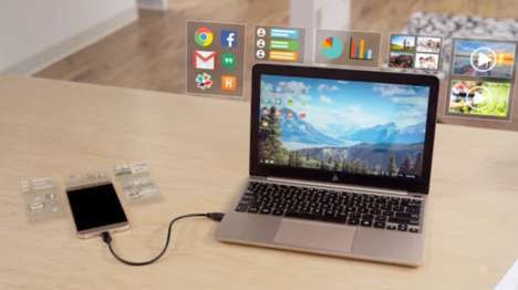 Transformative Smartphone Accessories - The Superbook Converts Your Android Phone Into a Laptop