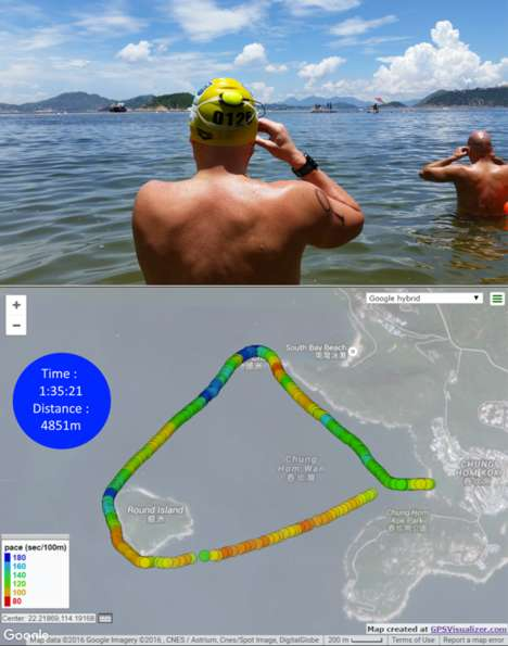 Wearable Swimming Systems - The Marlin System Offers Detailed Analysis Of Your Swims