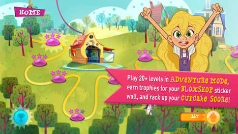 Child-Centric Coding Apps - The GoldieBlox App Aims to Teach Coding Skills to Young Children