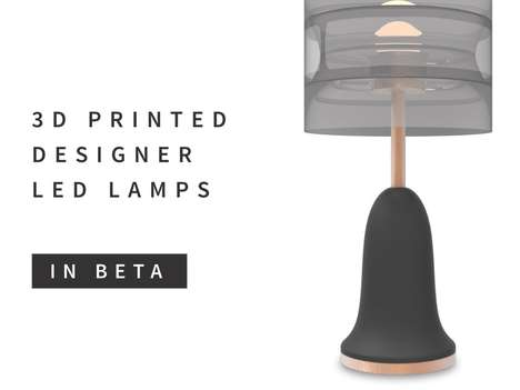 Designer 3D Printed Lamps - Gantri Offers Custom 3D Printed Lighting with Gallery Quality Light