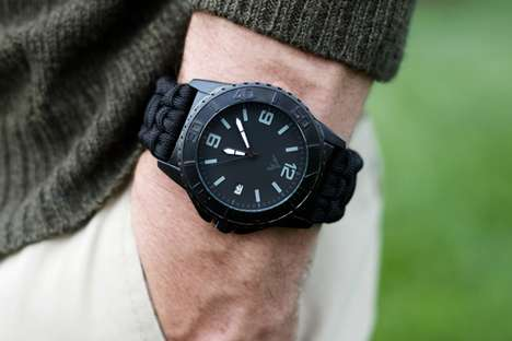 Fire-Starting Survival Watches - The Ascent Survivor Was Made to Keep Crucial Tools Close By