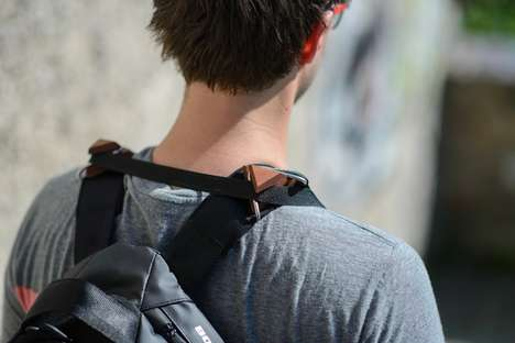 Camera Weight Redistributors - Obscura Gear's Wooden Clips Attach to Bags to Reduce Strain