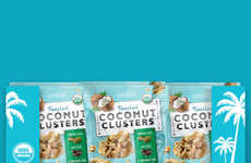 Tropical Coconut Snack Packaging