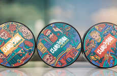 Vibrant Pomade Packaging