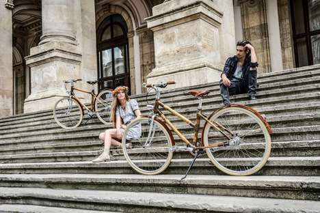 Handcrafted Bamboo Bikes - The 'Craft Bicycle' is Plant-Made and Eco-Friendly
