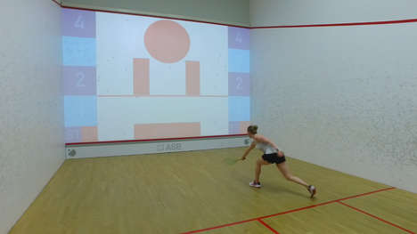 High-Tech Squash Games - interactiveSquash is an Active Video Game Inspired by Sports