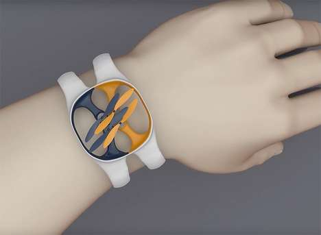 Wearable Flying Cameras - The 'nixie' is a Wearable Drone That Can Be Worn Like a Watch