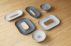Modern Concrete Homeware - LaSelva's Concrete Accessories Use Mixed Material and Interesting Shapes