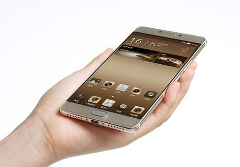 Extra Secure Smartphones - Gionee's Phones Feature Encryption Chips to Protect Personal Information
