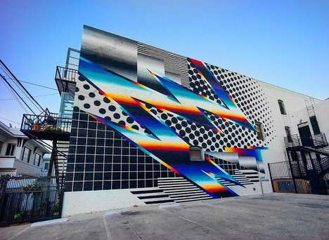 Citywide Street Art Events - POW! WOW! Long Beach is a Beautiful Art Festival for the Community