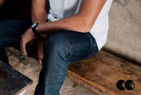 Upcycled Denim Companies - CC15 Produces Affordable Jeans from Reclaimed Fabrics