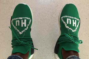 Pharrell X adidas NMD Human Race Released a Green Colorway