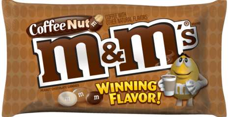 "Fan-Picked Candy Flavors - Coffee Nut is the New M & M Flavor After Winning a ""Flavor Vote"" Campaign"
