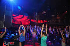 Athletic Rave Classes - The BeLive Fitness Movement Turns Workouts Into a Dance Party Atmosphere