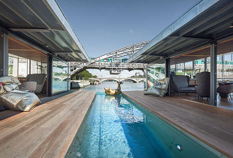 Floating Urban Hotels - The OFF Hotel Offers a Suspended Aquatic Bar and Luxe Accommodations