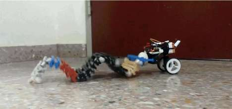 Slithering All-Terrain Robots - The SAW Robot Uses Worm-Like Motion to Climb, Swim and Crawl