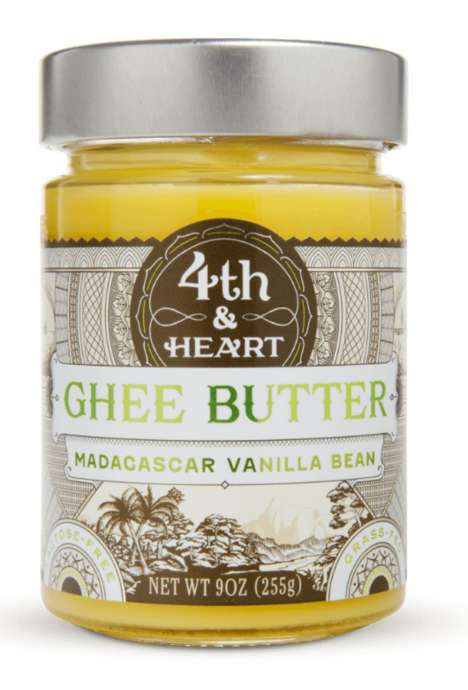 Gourmet Clarified Butter - Fourth & Heart's Ghee is Enriched with Flavorful Ingredients