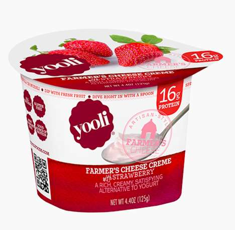 Fruit-Filled Cheese Cups - Yooli's Cheese Creme Snacks are a Flavorful Alternative to Yogurt