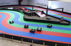 Self-Driving Racer Robots