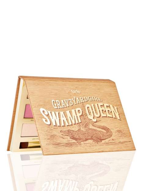 Collaborative Vlogger Cosmetics - Tarte Created a Special 'Swamp Queen' Palette with grav3yardgirl