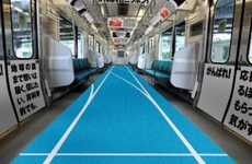 This Themed Tokyo Train Celebrates the Japanese Team at the Olympics
