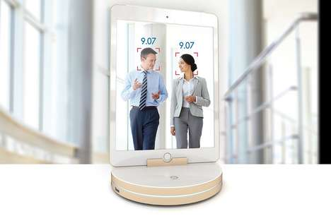 Rotating Smartphone Security Cameras - The Z Technology System Utilizes Cellphones for 360-Viewing