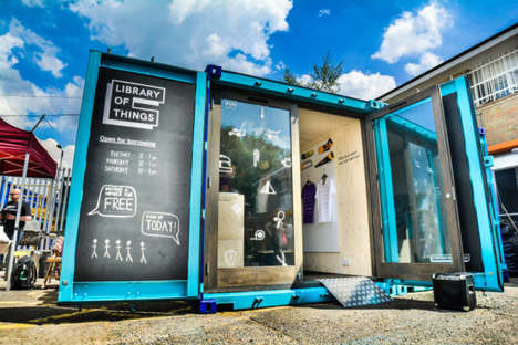 P2P Lending Libraries - London's 'Library of Things' is a P2P Lending Library for a Variety of Goods