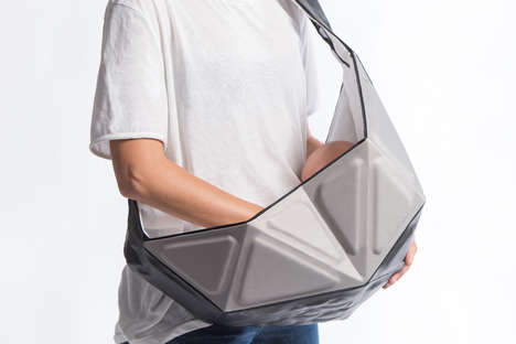 Structured Baby Slings - This Stylish Baby Sling is Simultaneously Structured and Flexible