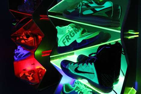 Redesigned Sneaker Displays - 'Sole Stacks' is the Sneaker Freak's Answer to Shoe Organization