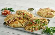 Overstuffed Mexican Wraps - El Pollo Loco New Overstuffed Quesadillas are a Hearty Fast Food Option