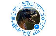 Kid-Oriented Dinosaur Chatbots - National Geographic KiDS' T-Rex Chatbot Educates Children