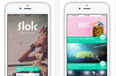 Music Festival Rideshares - Flok is a Ridesharing Community That Connects Music and Sports Fans