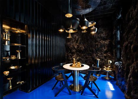 Avant-Garde Retail Spaces - Tom Dixon's New York Store Includes Bizarre Room Concepts