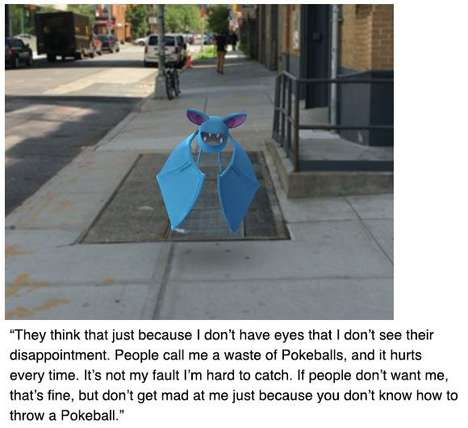 Anime Blog Parodies - College Humor Reimagined Pokémon Creatures as Misunderstood New Yorkers
